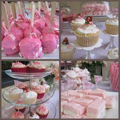 Coconut ice, star biscuits with edible glitter, butterfly (wings) biscuits, fairy bread, pink cupcakes with butterflies/flowers Pink Party Foods, Dish Display, Fairy Bread, Best Party Food, Sweet Sixteen Parties, A Little Party, Edible Glitter, Pink Parties, Great Desserts
