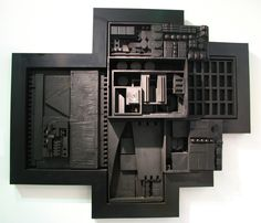 Louise Nevelson (September 23, 1899 – April 17, 1988) was an American sculptor known for her monumental, monochromatic, wooden wall pieces and outdoor sculptures. Description from imgarcade.com. I searched for this on bing.com/images