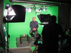 Edward James Olmos at Loyal Studios