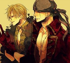 Sanji and Zoro - Film Z