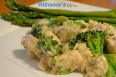 Creamy Mushroom Veggie Casserole | FitGroove Fitness. Nothing says home or comfort food quite like a creamy Casserole, but most Casseroles are packed with empty carbohydrates and heavy/fatty sauces. This recipe provides a yummy alternative to balance taste and your health. Give it a try!
