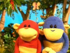 Playhouse disney ooh and aah monkey