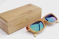Bambus #Sonnenbrille, Orange Your Life