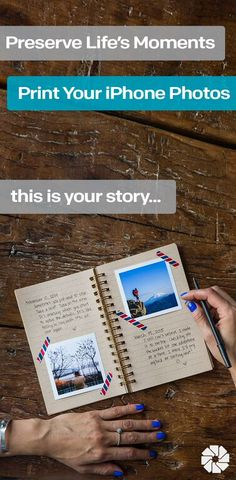 perfect way to hold on to memories - print your iPhone photos and get them delivered to your door each month.