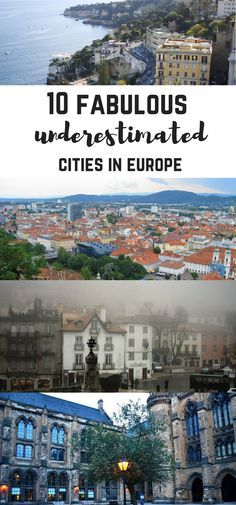 10 amazing underestimated cities in Europe: underrated cities in Europe in Spain, Scotland, Italy, Portugal, Germany and Austria! Segovia, Seville, Sintra, Zelle, Berchtesgaden, Graz, Piran, St. Paul de Vence and Glasgow