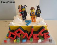 Lego movie cake - Cake by SweetMamaMilano - CakesDecor Lego Movie Cake, Lego Movie Birthday, Movie Cakes, Lego Cake, Cupcakes, Cupcake Cakes, Cakes For Boys, Creative Cakes, Unique Cakes