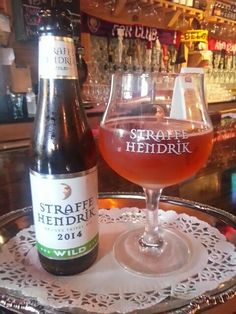 Straffe hendrik triple. Buster's Bistro. Belgian beer in Sanford,  fl
