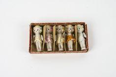Collection of Vintage  Porcelain Dolls