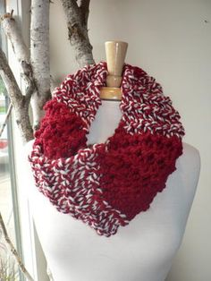 Everyone loves hand knit scarves and these are the perfect length, soft and cozy!