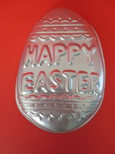Wilton Vintage 1983 Happy Easter Egg Cake Pan