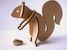 Etsy Find: Plywood Sculpture Kits | Apartment Therapy