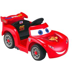 "Power Wheels Fisher-Price Ride On - Disney Pixar Cars 2 - Lil Lightning McQueen - Power Wheels - Toys ""R"" Us"