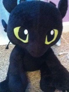 My stuffed animal toothless