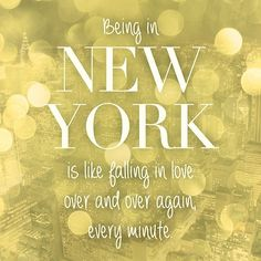 One Year in New York. I can't believe we've been living in New York for one whole year! Travel To Do, Travel Wall, I Love Nyc, My Love, New York Noel, New York Quotes, City Quotes, A New York Minute, Plus Belle Citation