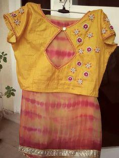 Shibori saree n blouse