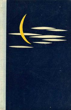 1961, cover for Ebenová karavána by Mirko Pašek
