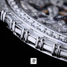 Case set with baguette-cut diamonds. The art of details a work of intricate precision and expertise to bring together the noblest of elements.  #AudemarsPiguet #craftsmanship #perfection #watchesofInstagram #horology #Swissmade #jewelry #watchmaker #watchmaking by audemarspiguet