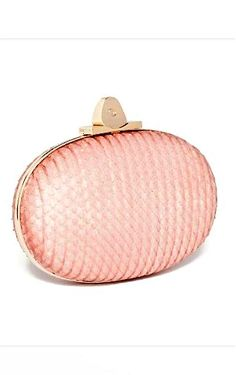 Elie Saab pink evening clutch