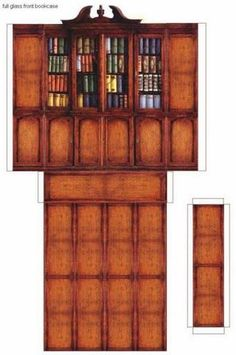 imprimibles muebles - Lola Martin - Picasa Web Albums Plus Paper Doll House, Paper Houses, Paper Furniture, Barbie Furniture, Miniature Furniture, Dollhouse Furniture, Dollhouse Accessories, Paper Models, Diy Dollhouse