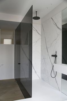 8 Plentiful Cool Tips: Inexpensive Small Bathroom Remodel bathroom shower remodel curtain rods.Bathroom Remodel Cost Small Spaces modern bathroom remodel on a budget.Small Bathroom Remodel On A Budget. Attic Shower, Attic Bathroom, Modern Bathroom, Small Bathroom, Marble Bathrooms, Bathroom Ideas, Bathroom Bin, Brown Bathroom, Bathroom Renovations