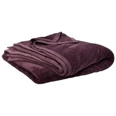 Lindsey: Threshold Fuzzy Blanket Color: Wine Cheer (purple) Size: King