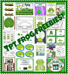 Frogs and LOTS of FREEBIES!