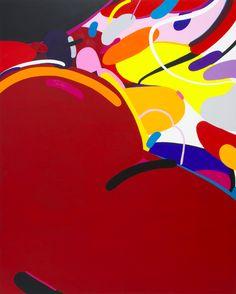 Kotaro MACHIYAMA | Take it easy | Acrylic on Canvas | 45.9 6H x 35.8 W x 1 in | 116.7 x 91 x 2.5 cm | 2016