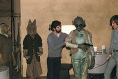 George Lucas directing Greedo.
