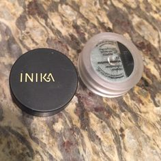 BRAND NEW INIKA MINERAL EYESHADOW Never been used inika mineral eye shadow in the color Eternal Marine (#11). It is a beautiful bluish grey with blue shimmer. Inika Makeup Eyeshadow