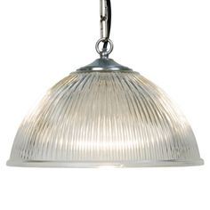 Prismatic Dome Pendant Light