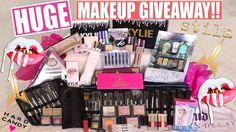 HUGE MAKEUP GIVEAWAY !! (Kylie Cosmetics, Jeffree Star, Stilla) Internat...