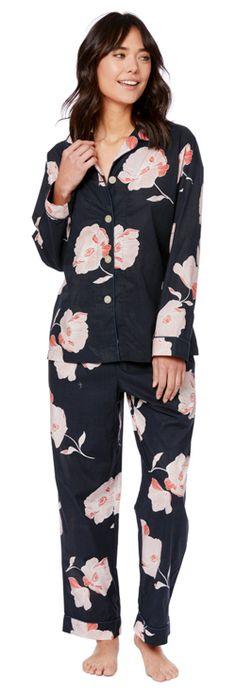 813136daf7 The Cat s Pajamas Women s Penelope Luxe Pima Cotton Classic Pajama Set