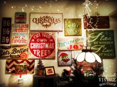 Absolute Vintage Boutique: Holiday Tables 2013