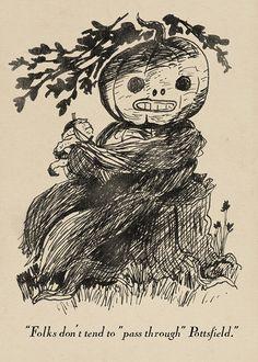 pottsfield   Tumblr Garden Wall Art, Over The Garden Wall, Halloween Artwork, Arte Horror, Vintage Halloween, Art Inspo, Cool Art, Illustration Art, Character Design