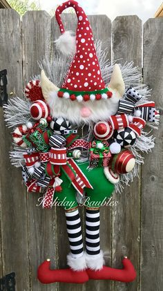 Mr. JollyToes the Elf by Holiday Baubles