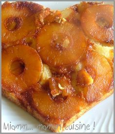 Light pineapple cake finally WW desserts it s not bad Yum Maman Cuisine Dessert Ww, Gourmet Desserts, Weight Warchers, Pineapple Cake, Cake Recipes, Food And Drink, Cooking, Breakfast, Leeds