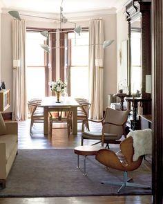 Dining Room with Danish Modern classics.