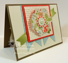 Stampin' Up!'s Blossom Punch by Stampin Meg - Cards and Paper Crafts at Splitcoaststampers