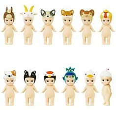 New Sonny Angels: animal series 4, collectable little dolls with animal heads and wings from Japan * The Pippa & Ike Show