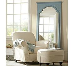 Sonia Floor Mirror #potterybarn