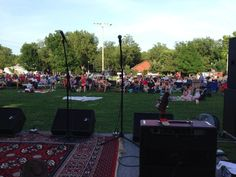 Summer Breeze Concert Series featuring the Red Dirt Rangers #normanok #music #oklahoma