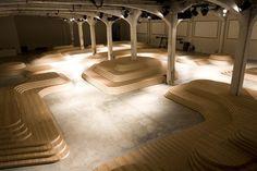 Prada SS 2009 Catwalk, designed by AMO by re-Design, via Flickr