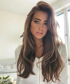 Jaw-Dropping Unique Ideas: Frauenfrisuren Hochsteckfrisuren Frauenfrisuren … – beautiful hair styles for wedding Pretty Hairstyles, Girl Hairstyles, Updos Hairstyle, Long Hairstyles With Layers, Wedding Hairstyles, Baddie Hairstyles, Long Brunette Hairstyles, Bridal Hairstyle, Bouffant Hairstyles