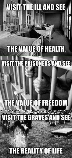 The value of life.