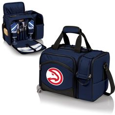 Atlanta Hawks Picnic Pack With Service for 2 -Malibu by Picnic Time
