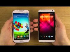 I do a speed comparison test between the Samsung Galaxy S4 and the HTC One in this video. Both phones here are the U.S. AT amp T variants meaning they both have ... Samsung Galaxy S 4 vs. HTC One Dogfight Part 1 This is easily THE