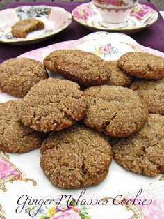 Ginger Molasses Cookies | Earthgiven Kitchen