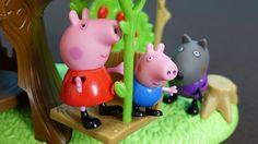 Peppa Pig Français. Peppa, George et leurs amis vont visiter YooHoo. Geo...