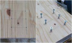 Par de soportes para estantes de hierro envejecido decorativo 115 mm x 230 mm