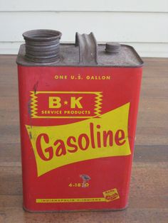 Vintage One Gallon Gasoline Can